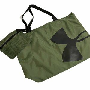 Under Armour Green Shoulder large logo bag gym